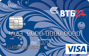 Новая карта банка ВТБ24
